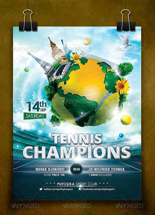 GraphicRiver Sports World Vs.1 Poster/Flyer