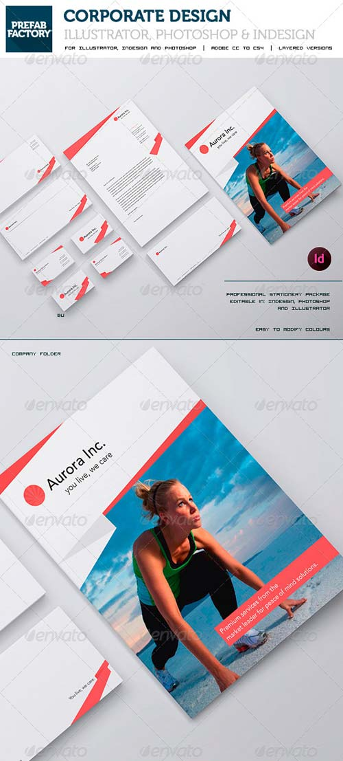 GraphicRiver Stationary and Corporate Identity Kit