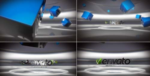 Hi-Tech Logo Teleporter - After Effects Project (Videohive)