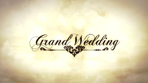 Grand Wedding - After Effects Project (Videohive)