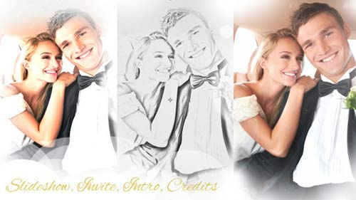 Wedding Intro & Wedding Slideshow - After Effects Project (Videohive)