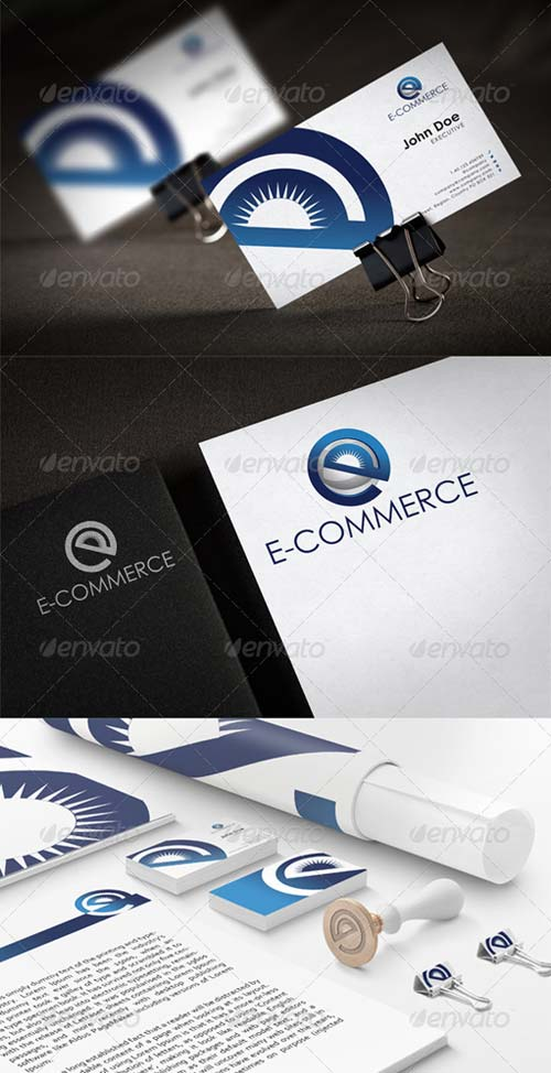 GraphicRiver eCommerce Stationary New Templates Design