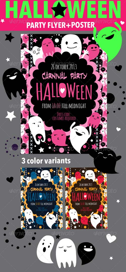GraphicRiver Halloween Flyer & Poster