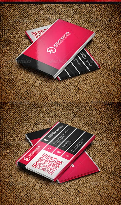GraphicRiver Intense Artisan Creative Business Card Vol-38