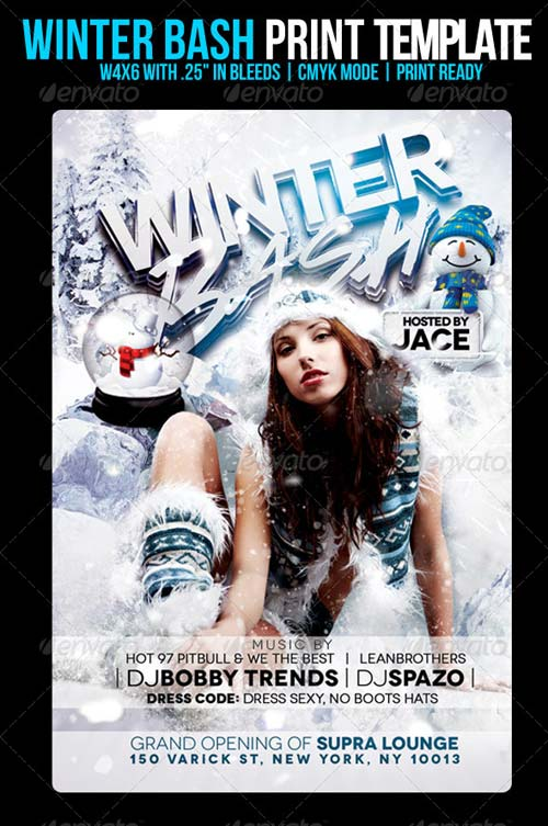 GraphicRiver Winter Bash Flyer