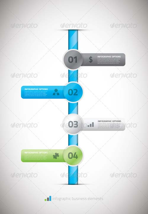 GraphicRiver Infographic business timeline template vector illu