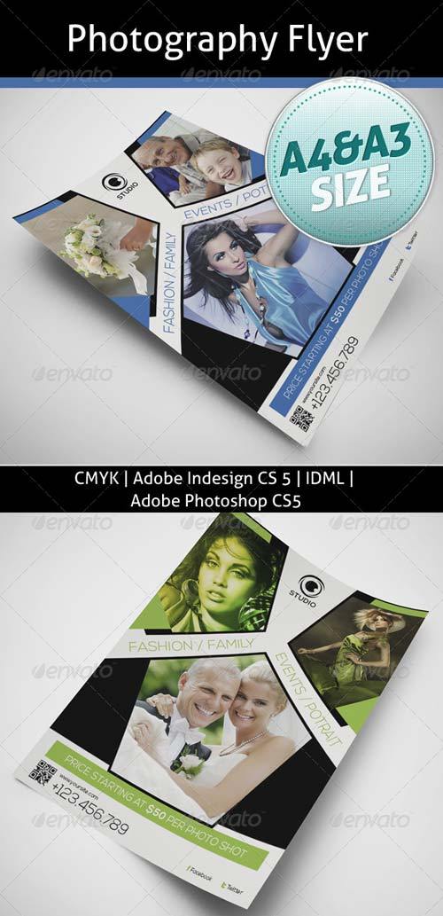 GraphicRiver Photography Flyer