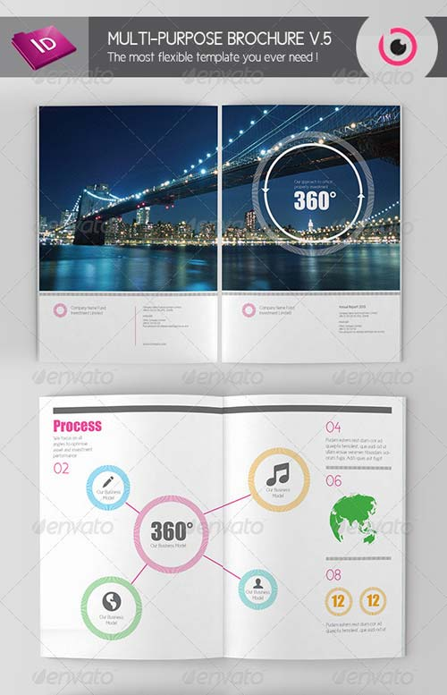 GraphicRiver Multi-purpose Brochure Template V.5