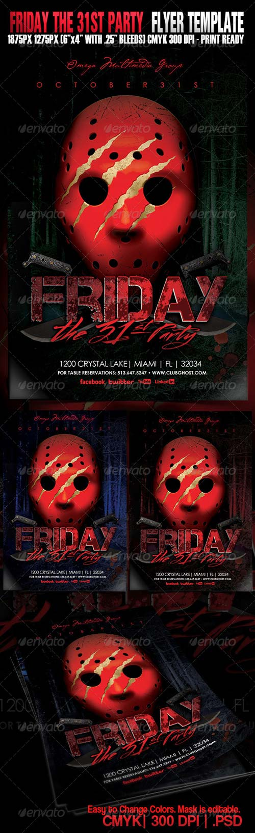GraphicRiver Friday The 31st Party