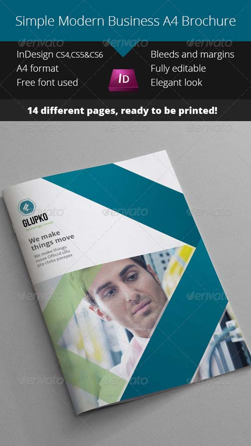 GraphicRiver Simple Business Catalogue - Brochure