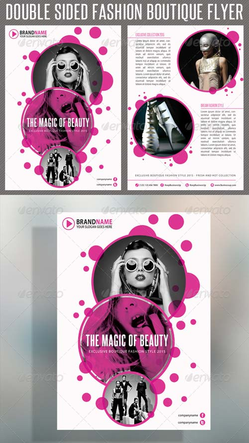 GraphicRiver Fashion Product Flyer 02