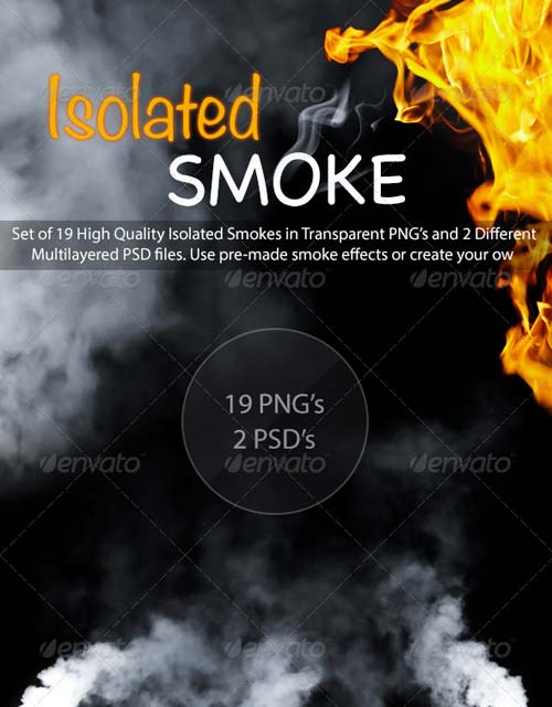 GraphicRiver Isolated Smoke