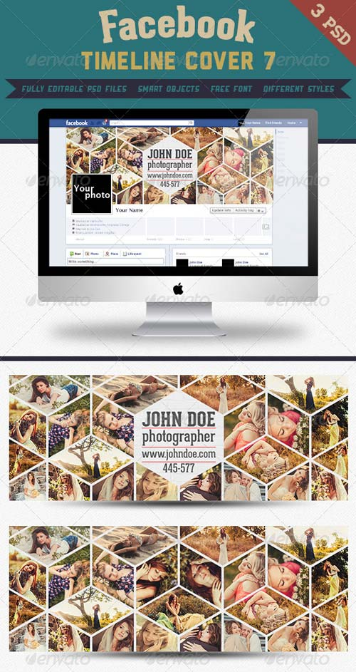 GraphicRiver Fb Timeline Cover 7