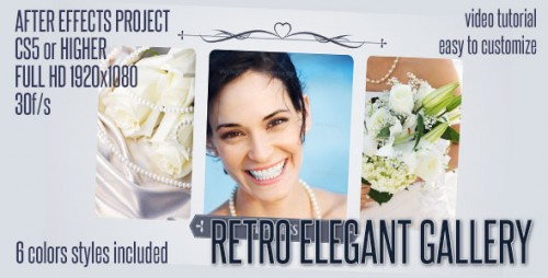 Elegant Retro Gallery - After Effects Project (Videohive)