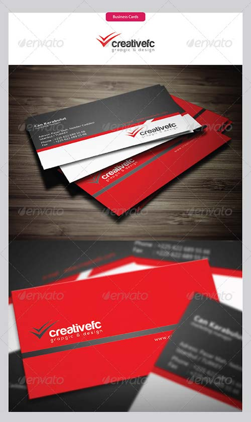 GraphicRiver Corporate Business Cards 388