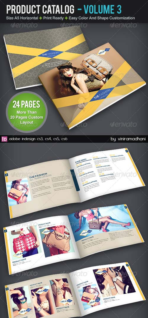 GraphicRiver Product Catalog Brochure | Volume 3