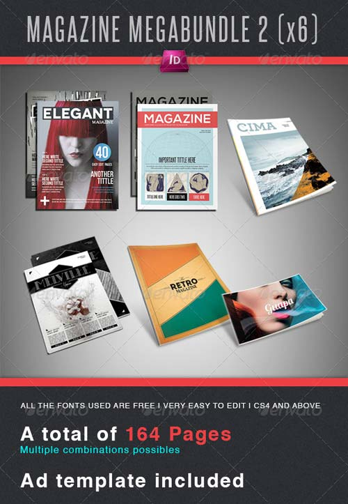 GraphicRiver MGZ Mega Bundle 2