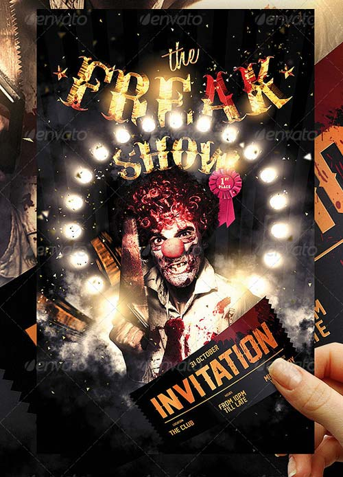 GraphicRiver Halloween Carnival Flyer