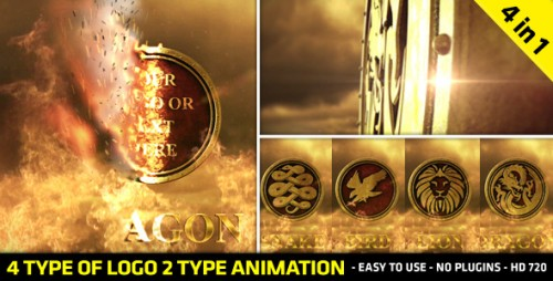 Fire Logo Reveal - After Effects Project (Videohive)