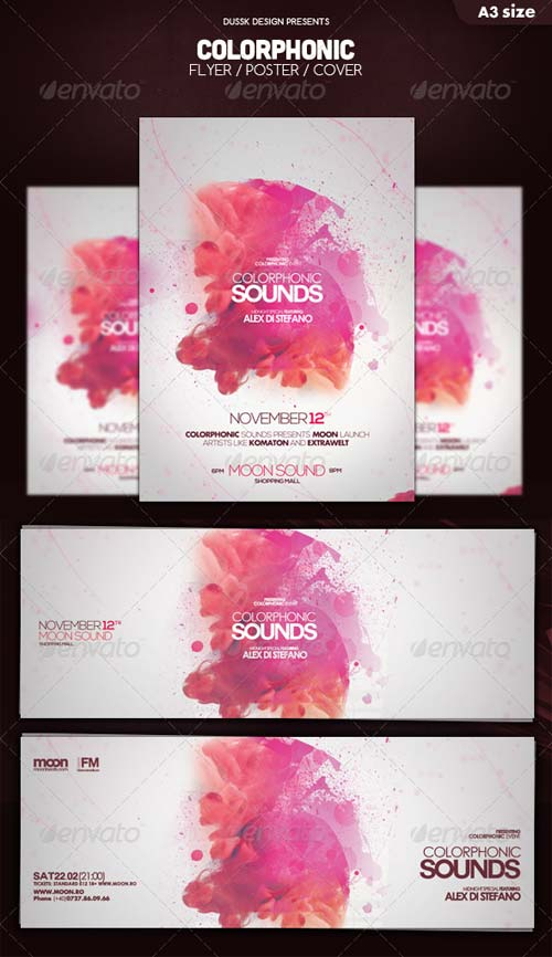 GraphicRiver Colorphonic Poster Flyer