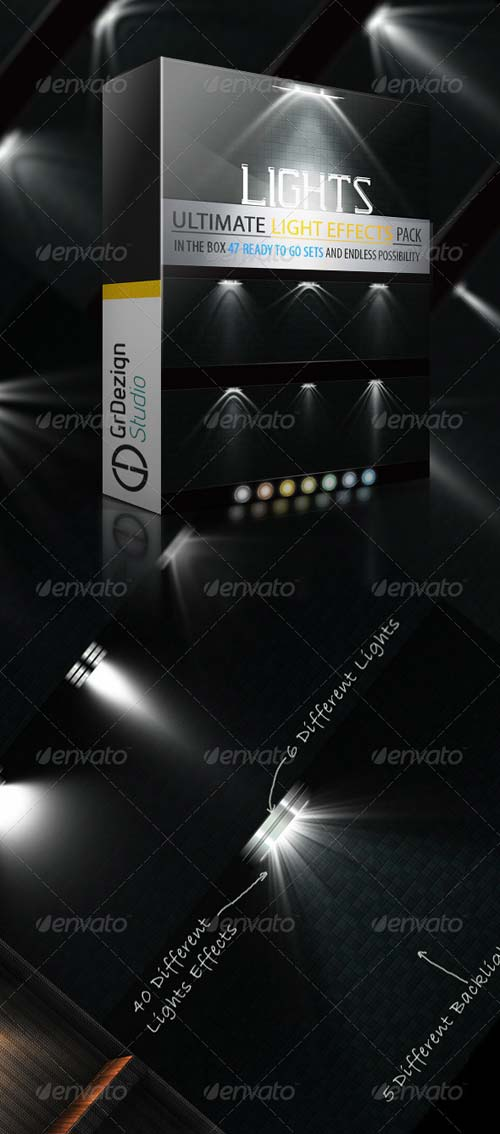 GraphicRiver Light Effects Ultimate Bundle