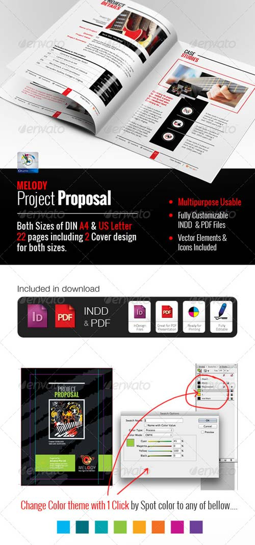 GraphicRiver Professional Clean Proposal