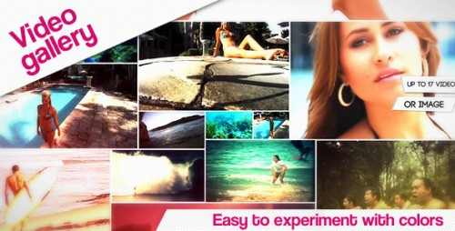 Video Gallery - After Effects Project (Videohive)