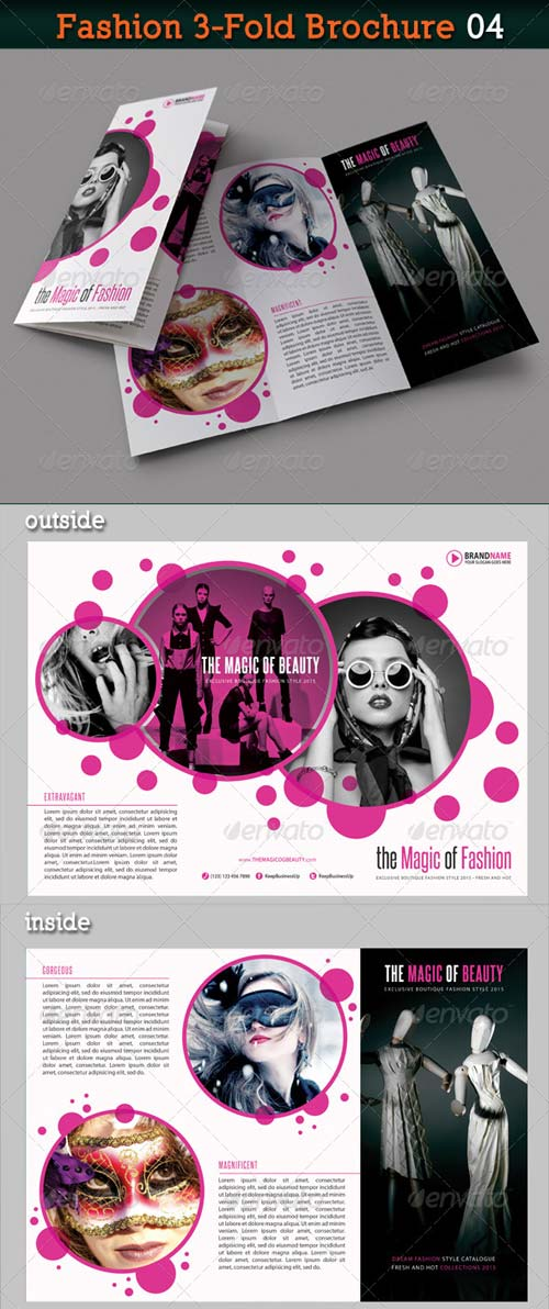 GraphicRiver Fashion 3-Fold Brochure 04