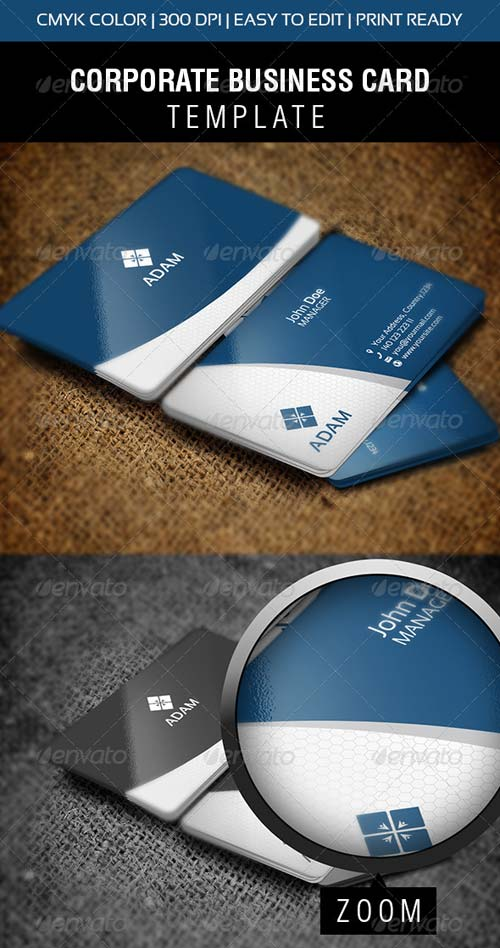 GraphicRiver Adman Business Card