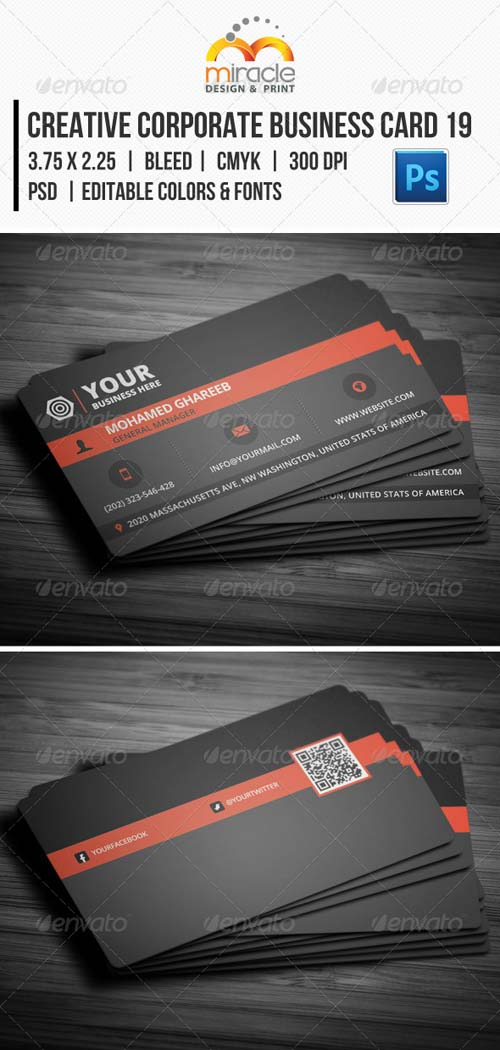 GraphicRiver Creative Corporate Business Card 19