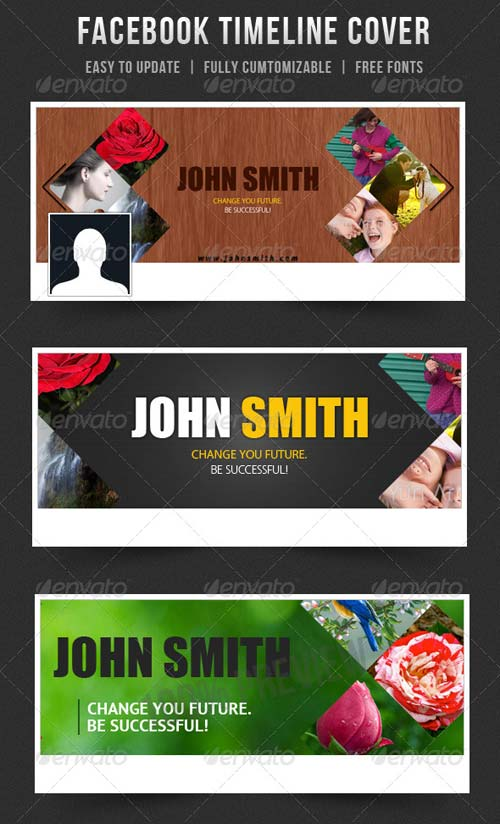 GraphicRiver Facebook Timeline Cover 5754974