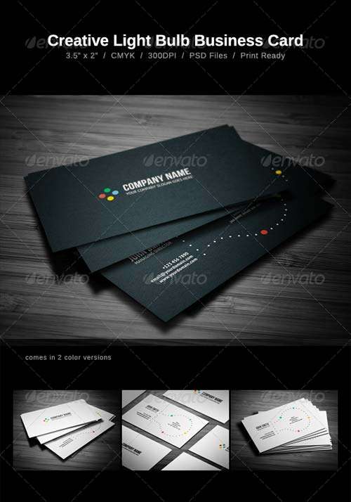GraphicRiver Creative Business Card 1378606