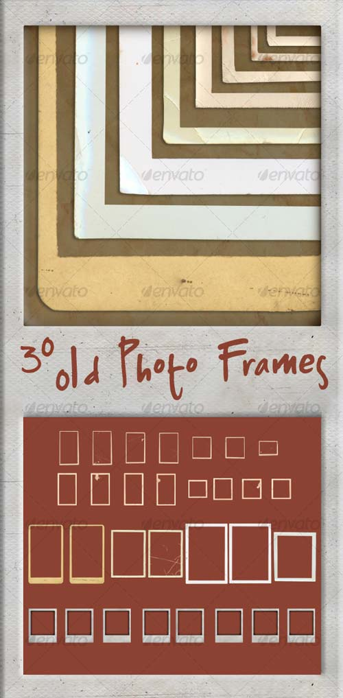GraphicRiver 30 Old Photo Frames