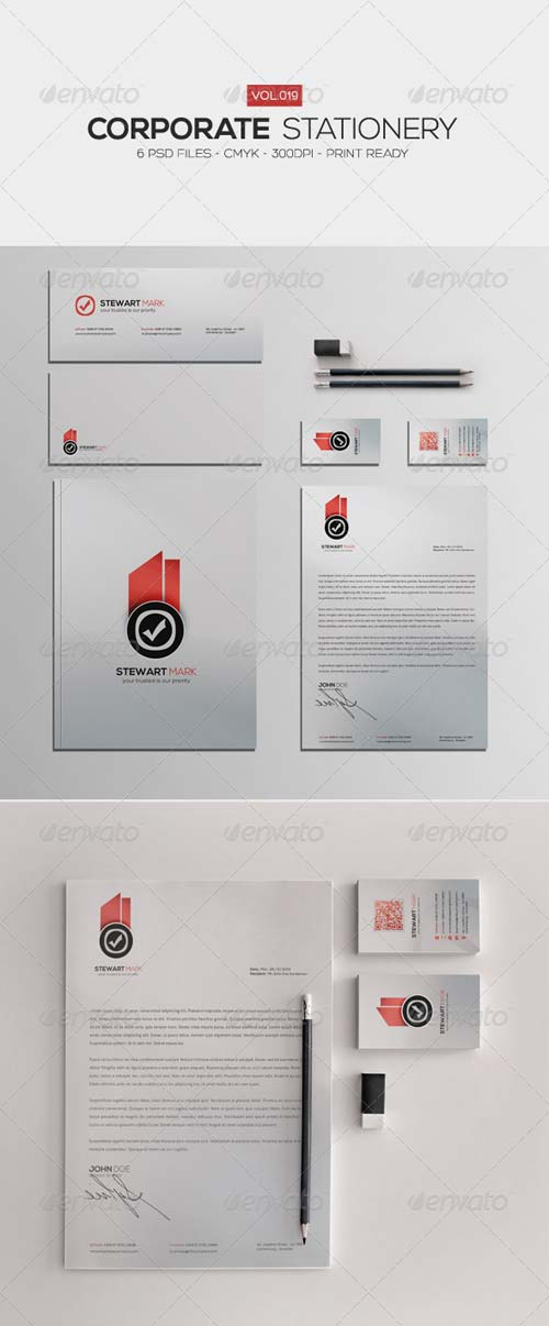 GraphicRiver Corporate Stationery Vol.19