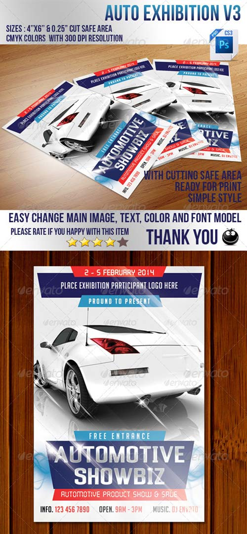 GraphicRiver Auto Exhibition V3
