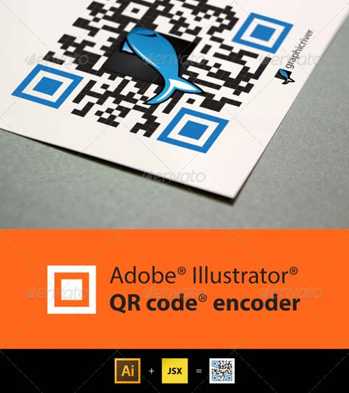 GraphicRiver QR Code generator for Illustrator