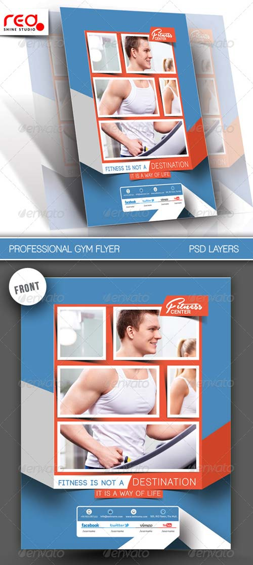 GraphicRiver Fitness Club Flyer/Poster Template