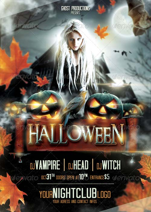 GraphicRiver Halloween Flyer 5710757