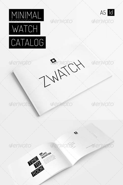 GraphicRiver Minimal Watch Catalog