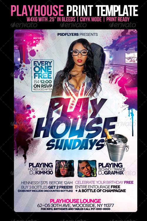 GraphicRiver Playhouse Flyer