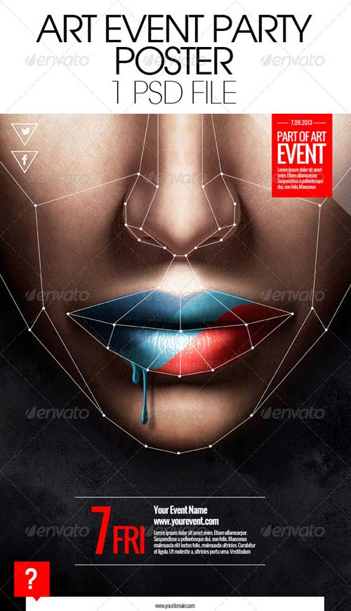 GraphicRiver Art Event Party Poster