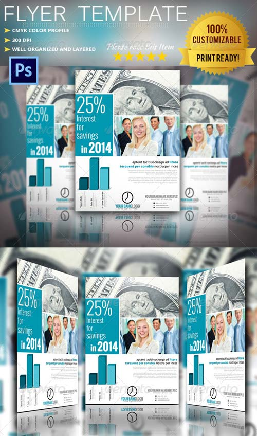 GraphicRiver Bank Flyer