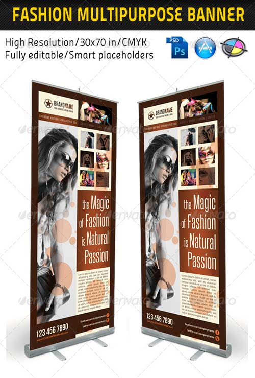 GraphicRiver Fashion Multipurpose Banner Template 10