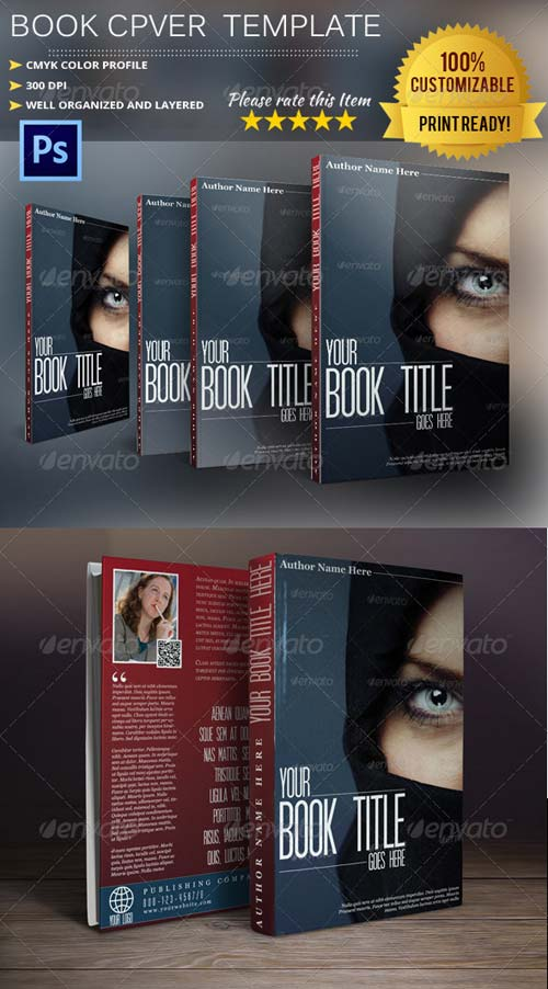 GraphicRiver Book Cover Template Vol.2