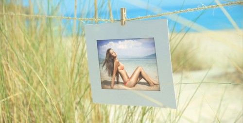 Photo Gallery On Summer Holiday - After Effects Project (Videohive)