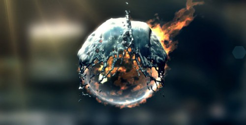 Fire & Water Logo - After Effects Project (Videohive)