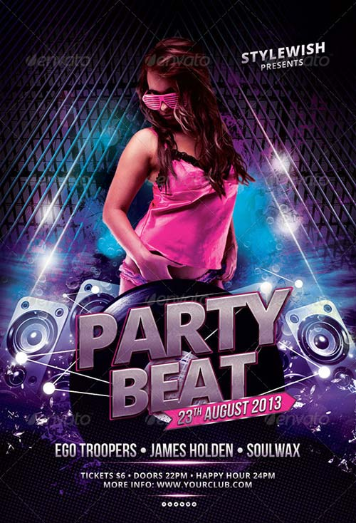 GraphicRiver Party Beat Flyer
