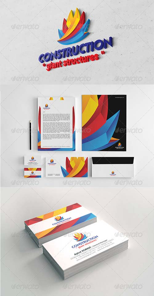 GraphicRiver Construction Corporate Identity Package