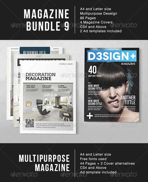 GraphicRiver Magazine Bundle 9
