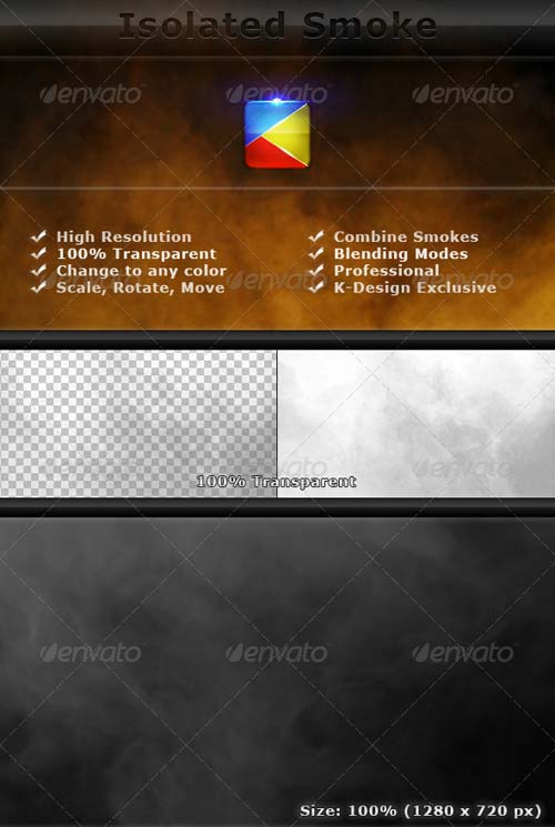 GraphicRiver Isolated Smoke FX Elements - 2